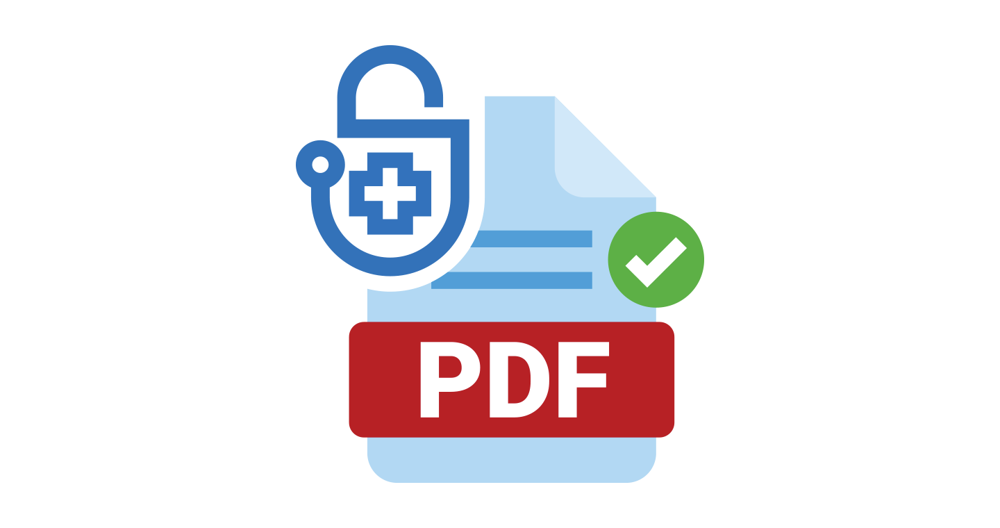 Sign PDF documents with AES